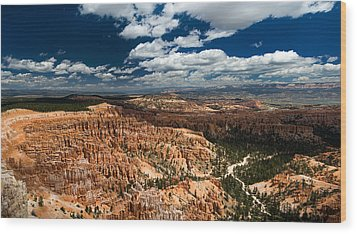 Bryce Canyon Ampitheater Wood Print