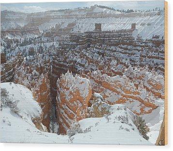 Bryce Canyon Feburary  Wood Print