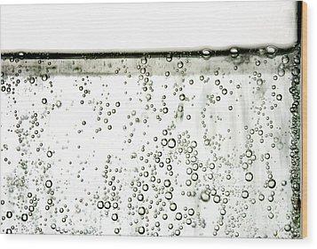 Bubbles Wood Print by Photo Researchers, Inc.