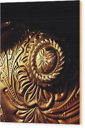Buckle Wood Print