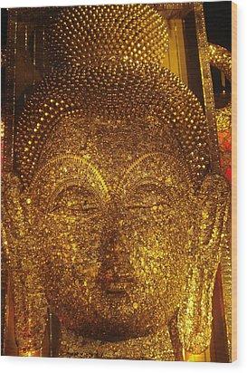 Buddha  Wood Print by Prasenjit Dhar
