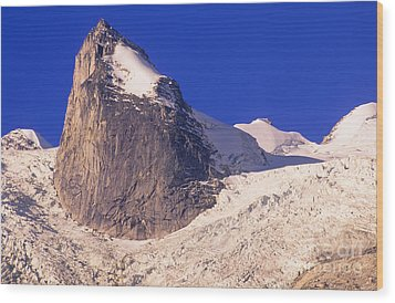 Bugaboo Spire Wood Print by Bob Christopher