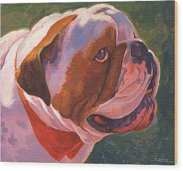 Bully For Me Wood Print by Shawn Shea