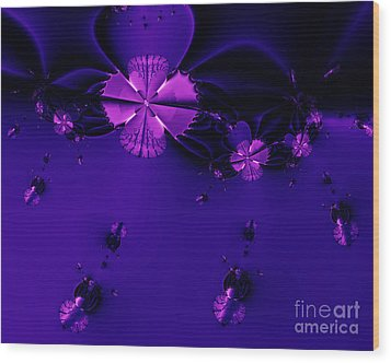 Bumble Beez . S19 Wood Print by Wingsdomain Art and Photography