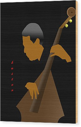 Buster Williams Wood Print