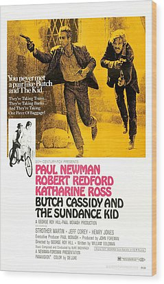 Butch Cassidy And The Sundance Kid Wood Print by Everett