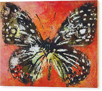 Butterfly 3 Wood Print by Yury Malkov