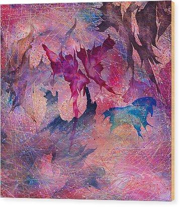 Butterfly Wood Print by Rachel Christine Nowicki