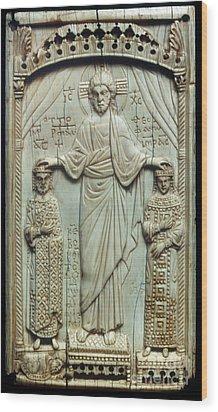 Byzantine Art Wood Print by Granger