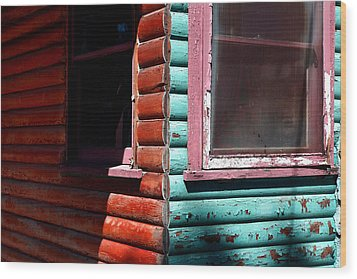 Cabin Fever Wood Print by Lon Casler Bixby