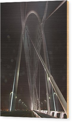 Cables Wood Print