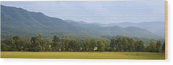 Cades Cove Wood Print by James Massey