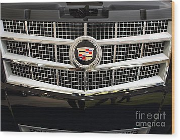Cadillac . 7d9524 Wood Print by Wingsdomain Art and Photography