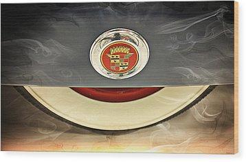 Cadillac Wood Print