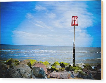 Caister On Sea Wood Print by Ruth MacLeod
