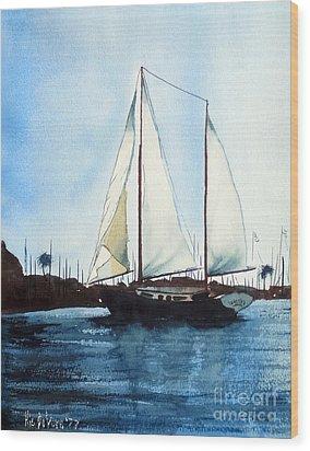California Dreamin IIi Wood Print by Kip DeVore
