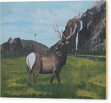 Call Of Nature Wood Print by Carolyn Ardolino