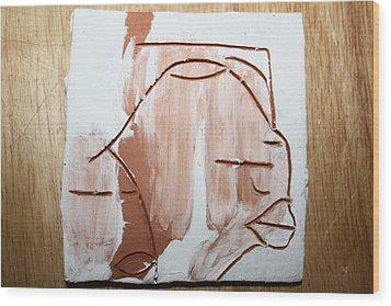 Calm - Tile Wood Print by Gloria Ssali