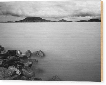 Calm Wood Print by Odon Czintos