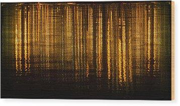 Calm Tense 03 Wood Print by Li   van Saathoff