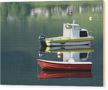 Wood Print featuring the photograph Calm Waters by Lynn Bolt
