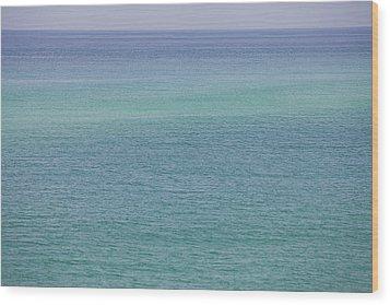 Calm Waters Wood Print by Toni Hopper