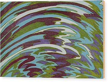 Calypso Wood Print by Lesa Weller