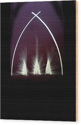Camille Campion Wood Print
