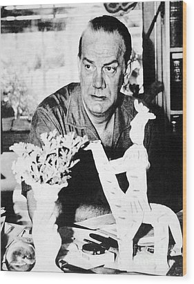 Camilo Cela (1916-2002) Wood Print by Granger