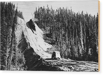Canada: Alaska Highway Wood Print by Granger
