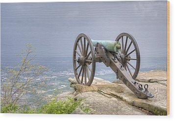 Cannon 2 Wood Print by David Troxel