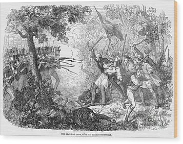Canterbury Riot, 1838 Wood Print by Granger