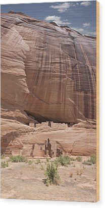 Wood Print featuring the photograph Canyon De Chelly Ruins by Gregory Scott