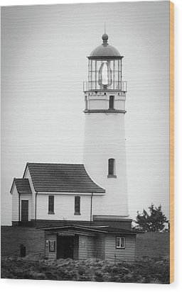 Wood Print featuring the photograph Cape Blanco Beacon by Kevin Munro