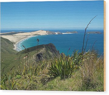 Wood Print featuring the photograph Cape Reinga - North Island by Peter Mooyman