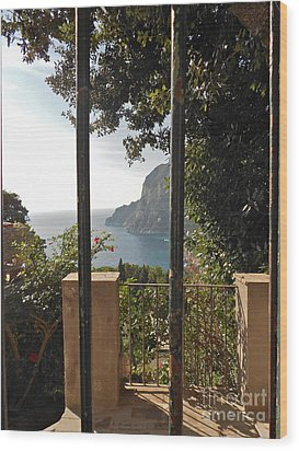 Capri Wood Print by Italian Art