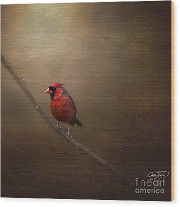 Cardinal Old Master - Artist Cris Hayes Wood Print