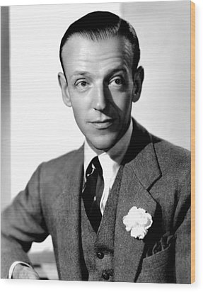 Carefree, Fred Astaire, 1938 Wood Print by Everett