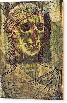 Cariatides Muertas II Wood Print by Paulo Zerbato