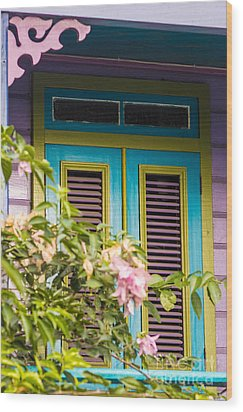 Caribbean Blue Wood Print by Rene Triay Photography
