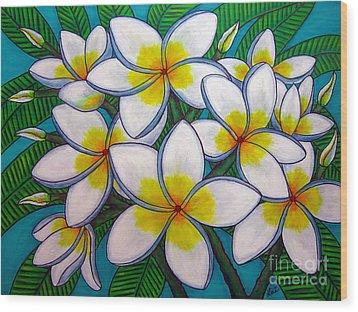 Caribbean Gems Wood Print by Lisa  Lorenz