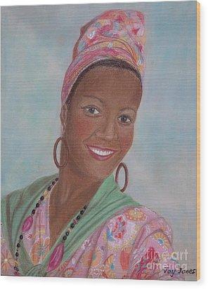 Caribbean Pride Wood Print