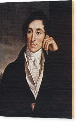 Carl Maria Von Weber Wood Print by Granger