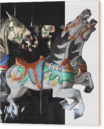 Carosel 1 Wood Print