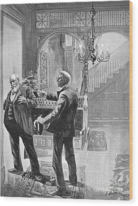 Carter Henry Harrison Wood Print by Granger