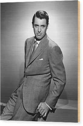 Cary Grant, Ca. 1940s Wood Print by Everett