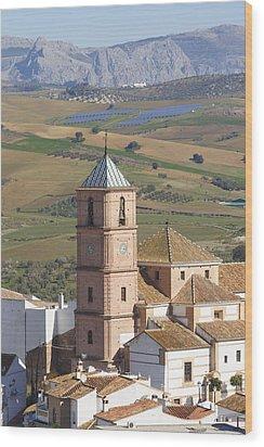 Casabermeja, Spain. Wood Print by Ken Welsh