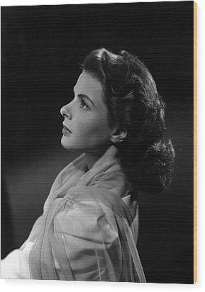 Casablanca, Ingrid Bergman, 1942 Wood Print by Everett