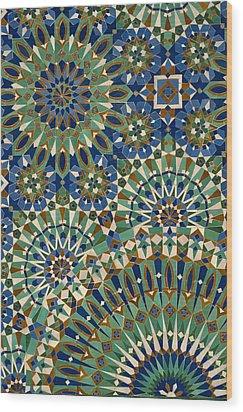 Casablanca, Morocco Wood Print by Axiom Photographic