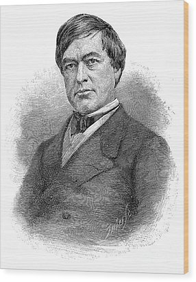 Cassius Clay (1810-1903) Wood Print by Granger